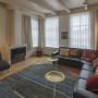woonkamer met smart tv